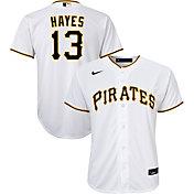 Nike Youth Pittsburgh Pirates Ke'Bryan Hayes #13 White Replica Jersey