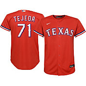 Nike Youth Replica Texas Rangers Anderson Tejeda #71 Cool Base Red Jersey