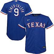 Nike Youth Replica Texas Rangers Isiah Kinder-Falefa #9 Cool Base Royal Jersey