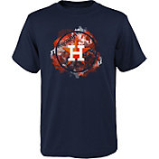 Outerstuff Youth Houston Astros Navy Logo T-Shirt