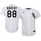 Nike Youth Replica Chicago White Sox Luis Robert #88 Cool Base White Jersey