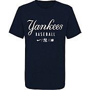 Nike Youth New York Yankees Blue Early Work Performance Tri-Blend T-Shirt