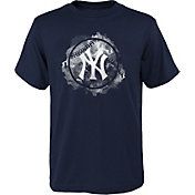 Outerstuff Youth New York Yankees Navy Logo T-Shirt