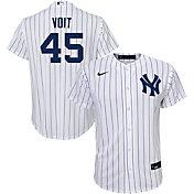 Nike Youth New York Yankees Luke Voit #59 White Replica Jersey