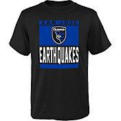 MLS Youth San Jose Earthquakes Steel Black T-Shirt