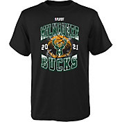 Nike Youth Milwaukee Bucks 2021 Playoffs Hype T-Shirt