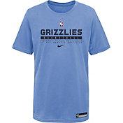 Nike Youth Memphis Grizzlies Blue Practice T-Shirt
