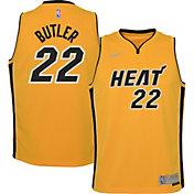 Nike Youth Miami Heat 2021 Earned Edition Jimmy Butler  Dri-FIT Swingman Jersey