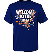 Outerstuff Youth Basketball Space Jam Welcome to the Jam Navy T-Shirt