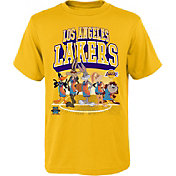Outerstuff Youth Los Angeles Lakers Space Jam Looney Tunes Yellow T-Shirt