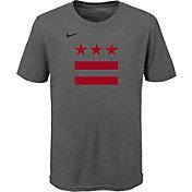 Nike Youth 2020-21 City Edition Washington Wizards Logo T-Shirt