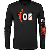 "Nike Youth Women's Basketball ""Count It"" Long Sleeve T-Shirt"