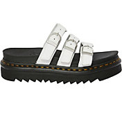 Dr. Martens Women's Blair Hydro Leather Slide Sandals