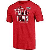 NCAA Men's Wisconsin Badgers Red T-Shirt