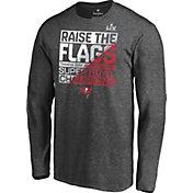 NFL Men's Super Bowl LV Champions Tampa Bay Buccaneers Parade Long Sleeve T-Shirt