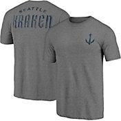 NHL Seattle Kraken Shoulder Patch Navy T-Shirt