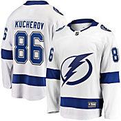 NHL Men's Tampa Bay Lightning Nikita Kucherov #86 Breakaway Away Replica Jersey