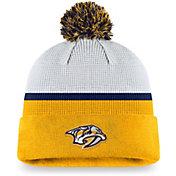 NHL Nashville Predators Authentic Pro Jersey Pom Knit Beanie