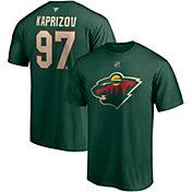 NHL Men's Minnesota Wild Kirill Kaprizov #97 Green Player T-Shirt