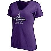 Fanatics Women's Colorado Rockies Purple 2021 All-Star Game V-Neck T-Shirt