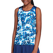 Prince Girl's Printed Fashion Tennis Tank Top