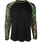 Mossy Oak Men's Obsession Raglan Sleeve Shirt