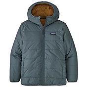 Patagonia Boys' Reversible Ready Freddy Hooded Jacket