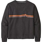 Patagonia Women's Ridge Rise Stripe Uprisal Crew Sweatshirt