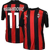 PUMA Men's AC Milan '20-'21 Zlatan Ibrahimovic #11 Home Replica Jersey