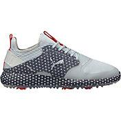 PUMA Men's IGNITE PWRADAPT Caged USA Golf Shoes