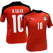 PUMA Men's Egypt '20 Mohamed Salah #10 Home Replica Jersey