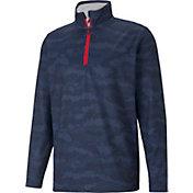 PUMA Men's Volition Flanked 1/4 Zip Golf Pullover