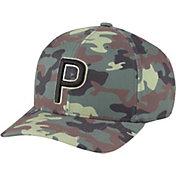 PUMA Youth Camo P 110 Snapback Cap