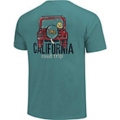 Image One Men's Jeep Road Trip Short Sleeve T-Shirt