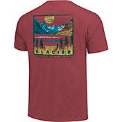One Image Men's Glacier National Park Short Sleeve T-Shirt