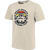 One Image Men's Washington Mount Rainier Short Sleeve T-Shirt