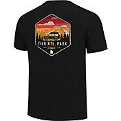 One Image Men's Zion National Park Short Sleeve T-Shirt