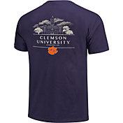 Image One Clemson Tigers Regalia Campus Drawing T-Shirt