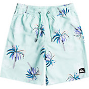 """Quiksilver Boys' Royal Palms 16"""" Recycled Volley Shorts"""