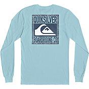 Quiksilver Men's Old Friends Long Sleeve Shirt