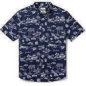 Reyn Spooner Men's New York Yankees Navy Performance Button-Down Shirt