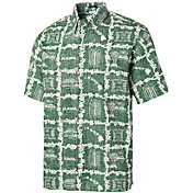 Reyn Spooner Men's Hawai'i Warriors Green Classic Button-Down Shirt