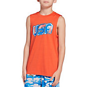 DSG Boys' Graphic Muscle Tank Top
