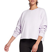 DSG Women's Cotton Terry Crew Sweatshirt