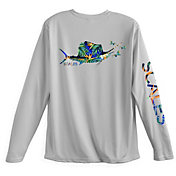 SCALES Men's Fly Sail Performance Long Sleeve Shirt