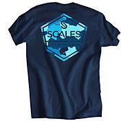 SCALES Men's Freshwater Built Premium Short Sleeve T-Shirt
