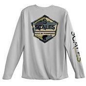 SCALES Men's Fresh Water Built Performance Long Sleeve Shirt