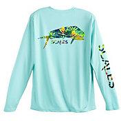 SCALES Men's Island Hopper Performance Long Sleeve Shirt