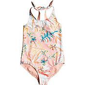 Roxy Toddler Girls' Friendly Story One Piece Swimsuit