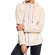 Roxy Women's Samba Mamba Zip-Up Fleece Jacket